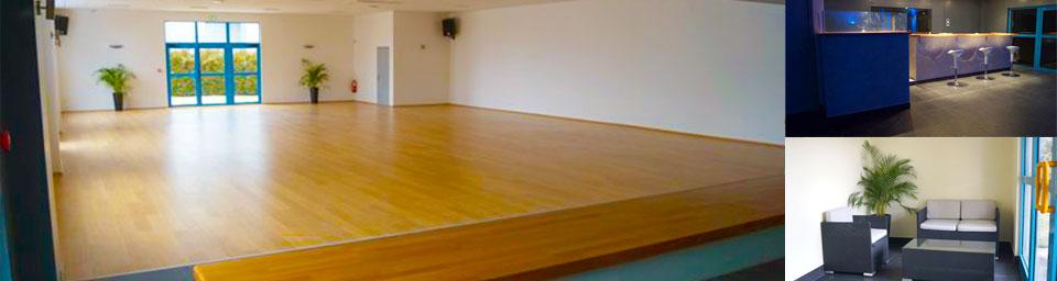 salle ballroom vide